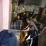 die alte Werkstatt wird geräumt