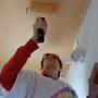 auch die Wände und Decken müssen neu erstrahlen