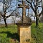 Croix pattée à Villeneuve (datée 1870)