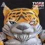 """""""Tiger Samurai Trooper"""" 10""""TT 2021 by avatar_chakal /https://www.instagram.com/avatar_chakal/"""