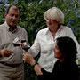 Rémy, isabelle et sabine, viticulteurs de 5ème et 6ème génération