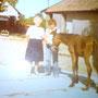 Karin mit Jambo - Genos Papa