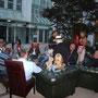 Bis in den späten Abend haben unsere Gäste Ihrer Zigarren-Leidenschaft gefrönt