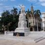 Parque Central mit Denkmal des Freiheitshelden José Marti, Havanna, Kuba