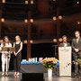 Rede des Abiturjahrgangs: Melissa, Enya, Luis und Christian