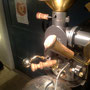 焙煎機のハンドルを木製に