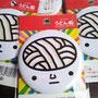缶バッチ(顔・直径55㎜)※現在、四国ショップ88のみ発売