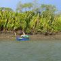 Verkehr auf dem Fluss