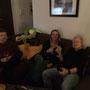 Jens, Ingrid und Graham sind gekommen...