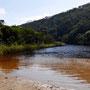 Sogar mit Fluss zum Salzwasser Abspülen