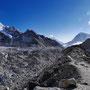Der Khumbu Gletscher
