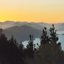 Sonnenaufgang in den Marlborough Sounds