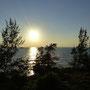 Zum Sonnenuntergang fahren wir dann zum Kap