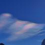 Mehr Opalwolken am Himmel