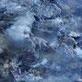 Aufstieg zum Cho La: die Flüsse sind tiefgefroren