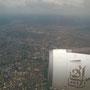 Anflug auf Abuja