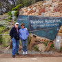 Mum and Dad an den Twelve Apostles!