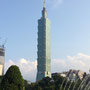 Der Taipei 101 mit 101 Stockwerken...