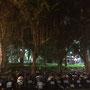 Abendstimmung mit Scootern in Zhongshan (da war mein Hotel)
