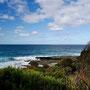 Wunderbare Blicke über das Meer