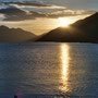 Sunset am Lake Wakatipu in Queenstown