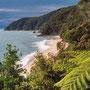 Auf einer Wanderung im Able Tasman Nationalpark