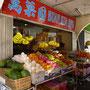 Obstmarkt in Kuching