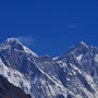 Mt. Everest und Lhotse