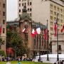 Chilenische Flaggen...