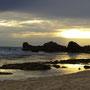 Sphinx stimmungsvoll bei Sonnenuntergang