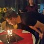 Kerzen ausblasen und...