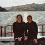 Und auch hier hatte ich Besuch von Susanne, der Weltenbummlerin! Zusammen waren wir hier mit Delphinen schwimmen.