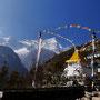Leicht angeknackste Stupa