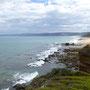 Sonnenstrahlen streicheln zaghaft die Küste ;-)