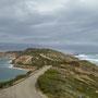 Hier im direkt Vergleich: links die Bay und rechts die Bass Strait