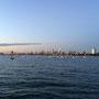 Skyline von Melbourne vom St. Kilda-Pier