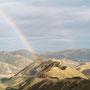 Wie war das? Am Ende eines Regenbogens steht ein Topf mit Gold? Ich bin genau durchgefahren! Zum ersten und einzigen Mal war ich genau am Ende eines Regenbogens! Ein Topf mit Gold hatte allerdings niemand dort abgestellt...