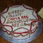 Kuchen zur Feier: wir haben alle alles geschafft!
