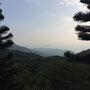 Blick über die Hügel von Hongkong