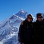 Mit 5545 m der höchste Punkt des Everest Circuit