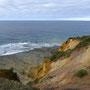Die Steilküste...