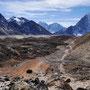 Weg durchs Gebirge