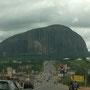 Anfahrt zum Zuma Rock