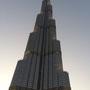 Und schließlich in aller Pracht: das höchste Gebäude der Erde