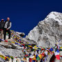 Auf dem Gipfel des Kala Pattar