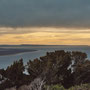 Wir kommen weiter in den Süden: Blick von Invercargill, der südlichsten Stadt Neuseelands auf dem Festland, aufs Meer