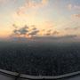 ...hinunter auf Taipei
