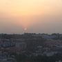Sonnenuntergang über Abuja