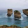 Noch mehr Felsen im Meer