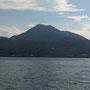 Im Hintergrund der Vulkan Guanyinshan...